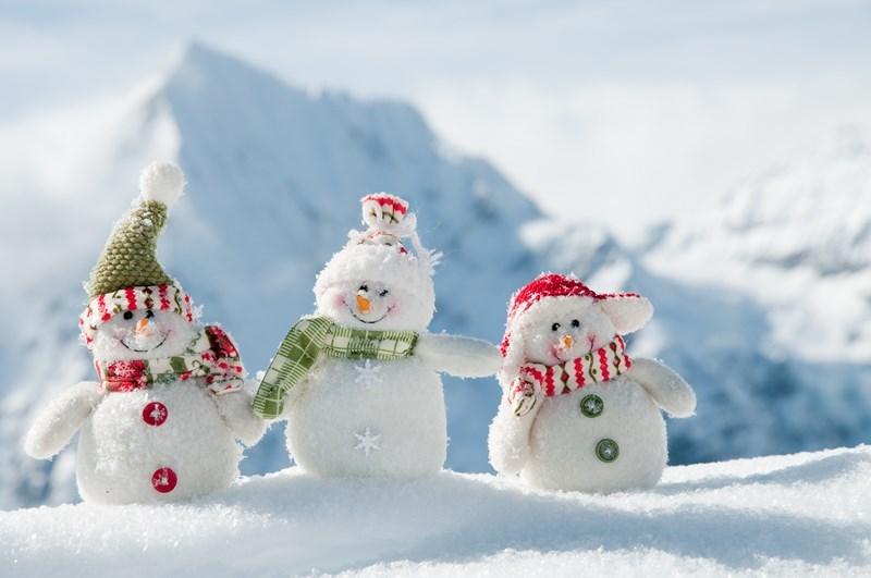 J'adorais faire des bonhommes de neige