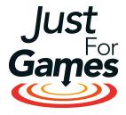 Logo justforgames.com