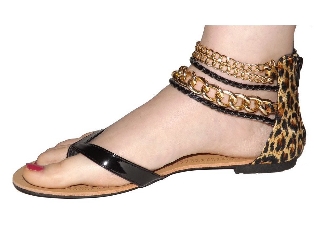 Sandales fermées femme