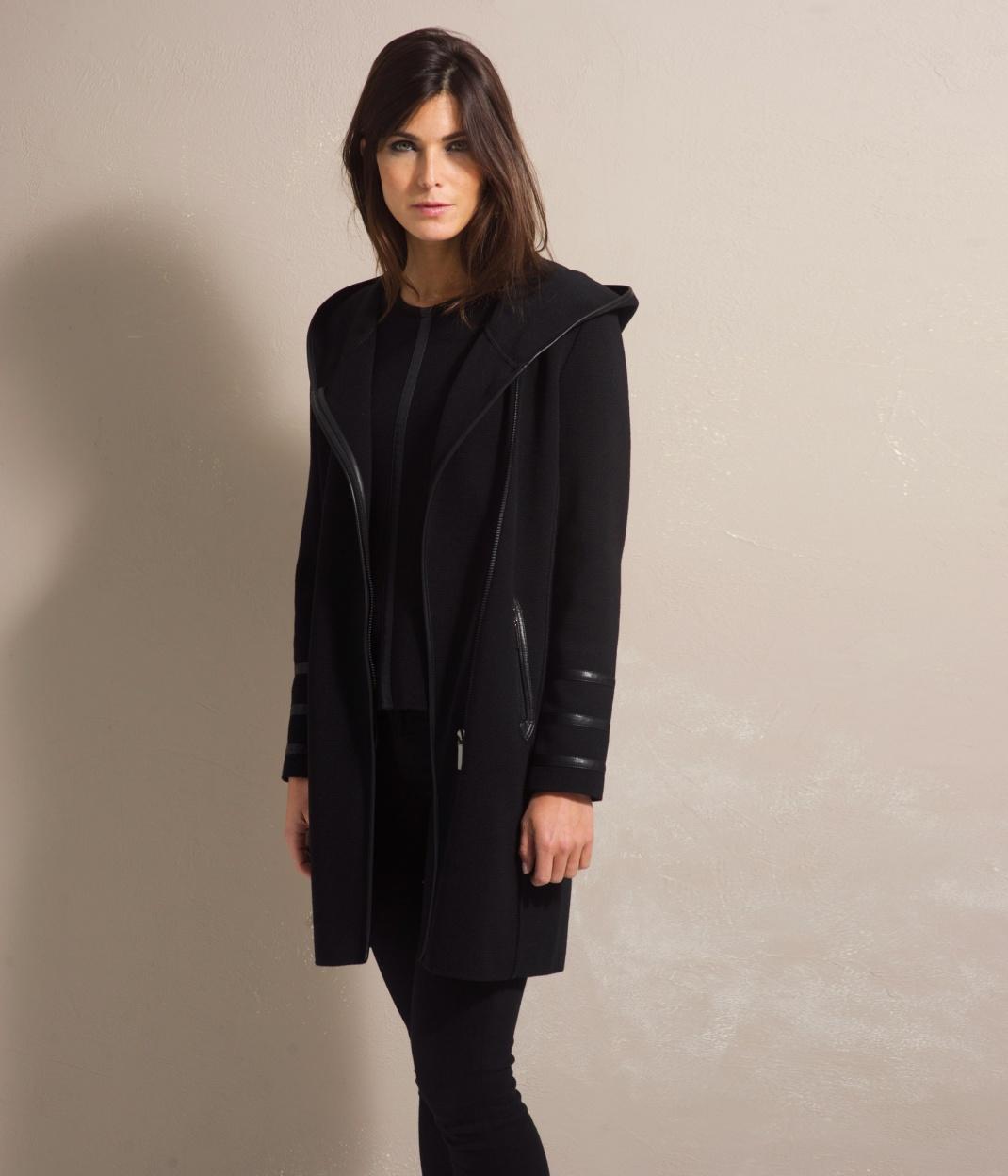 Manteau laine femme
