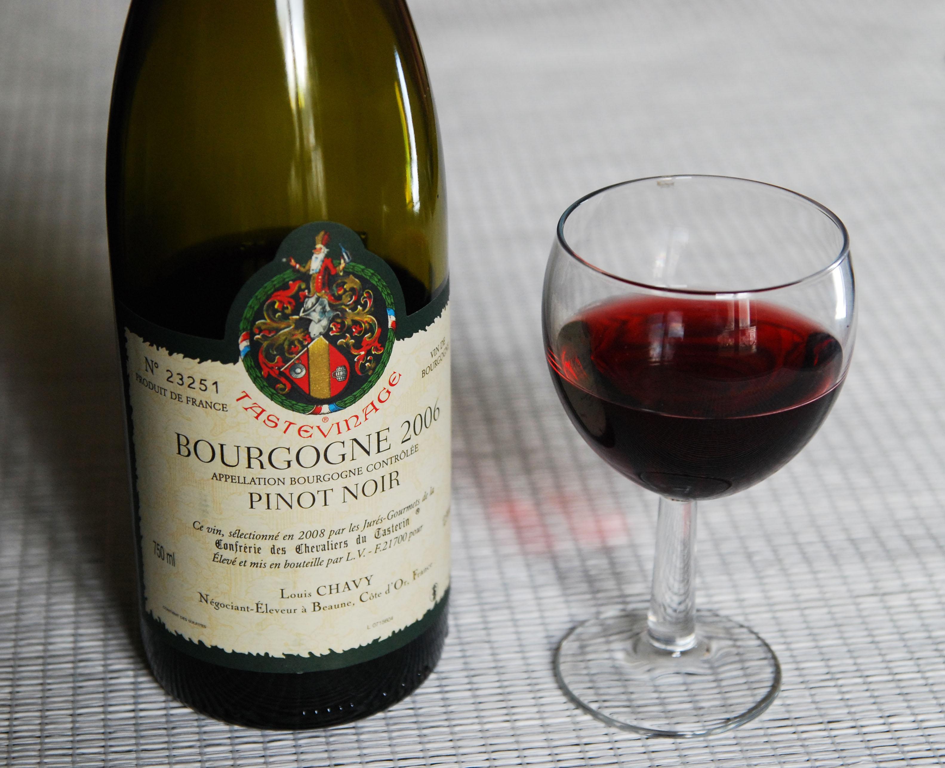 Le vin de bourgogne, le vin que je préfère