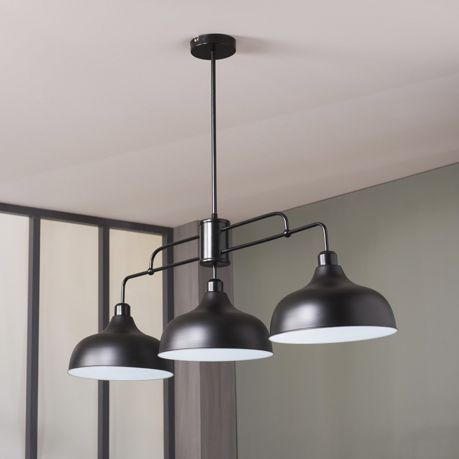 Plafonnier et suspension chez spot luminaire design - Suspension type industriel ...