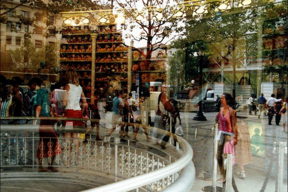 paris shopping malls