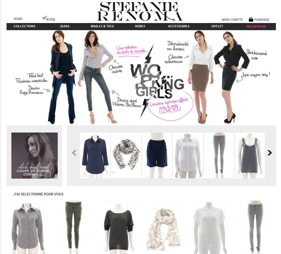 site shopping femme