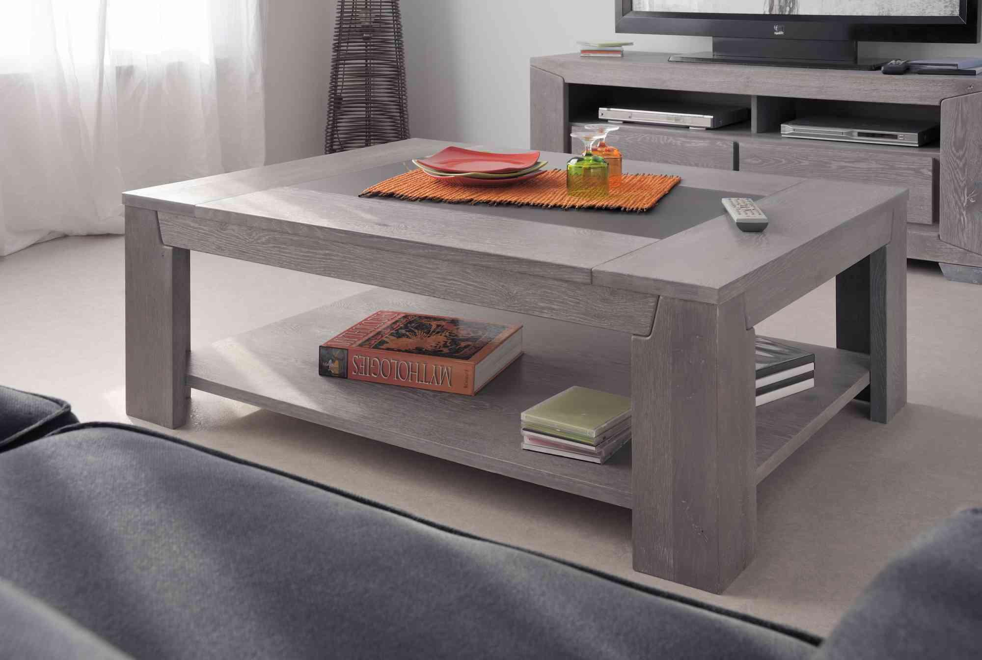 Tables basses : elles peuvent être tendance et fonctionnelles